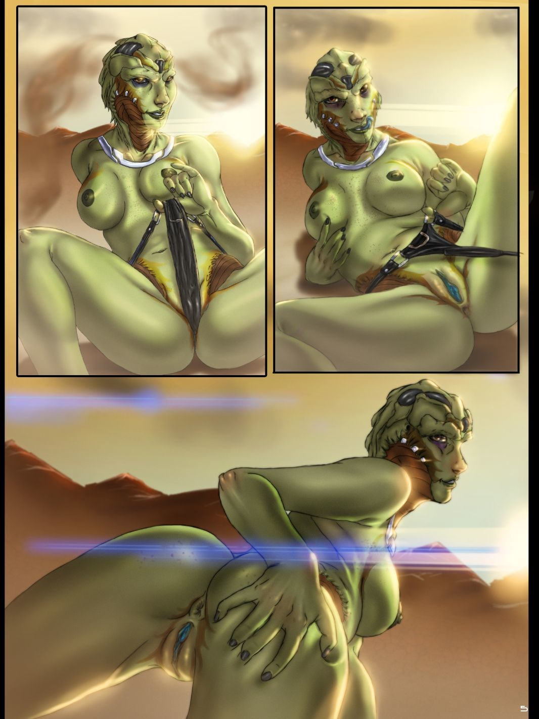 FORNAX_The_galaxys_finest_xenophilia_(Mass_Effect) comix_57892.jpg